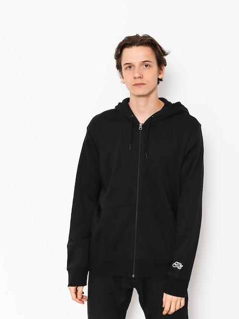 Mikina s kapucí Nike SB Sb Icon Essnl ZHD (black/black)