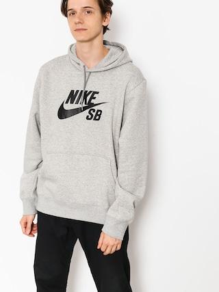 60bcf2d407e Mikina s kapucí Nike SB Sb Icon HD (dk grey heather black) ...