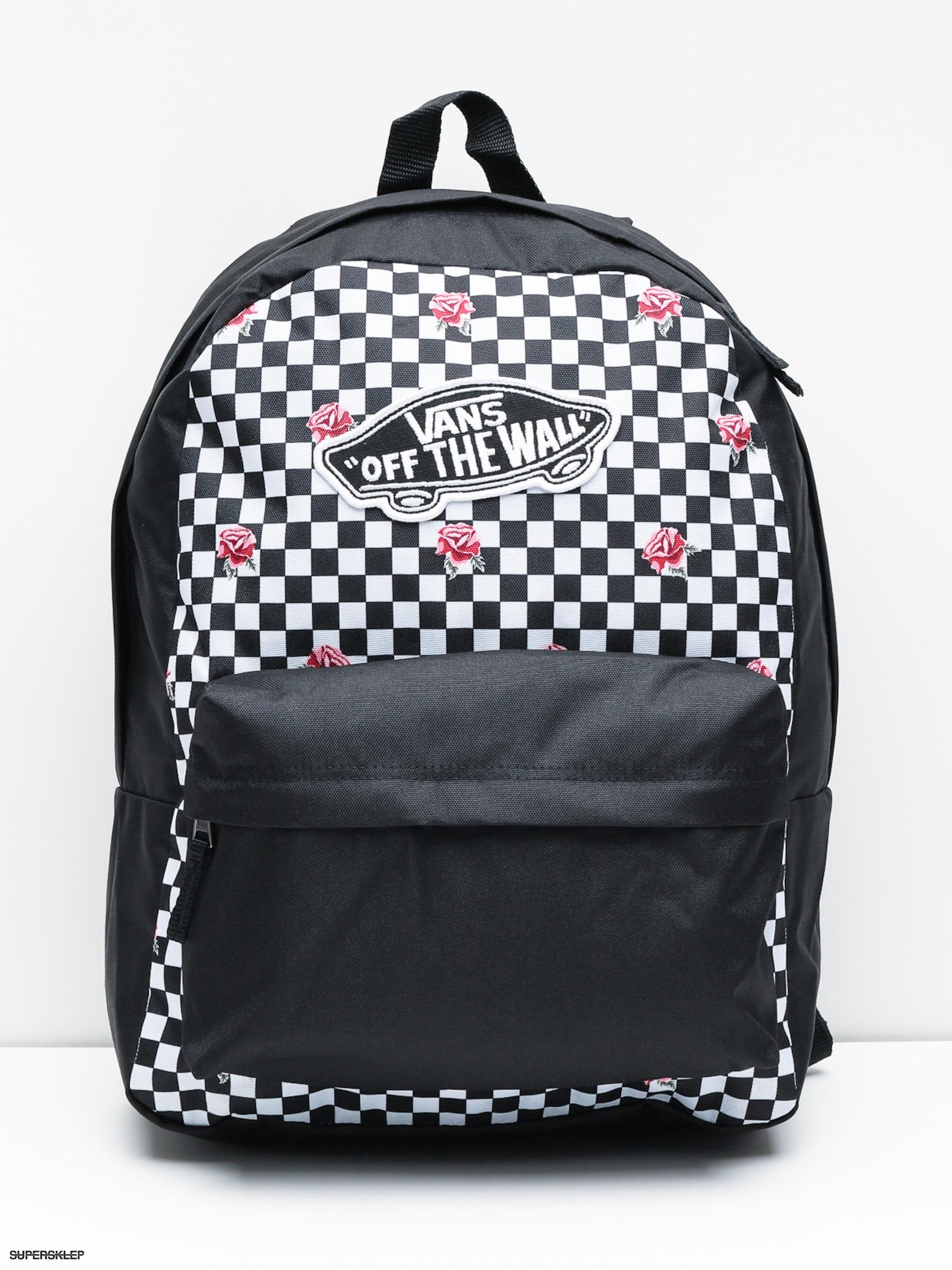 4f371439f Batoh Vans Realm Wmn (rose checkerboard)