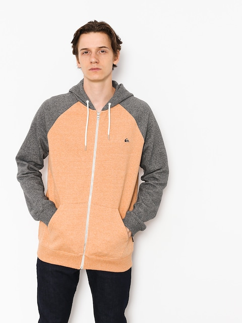 Mikina s kapucí Quiksilver Everyday ZHD (inca gold heather)