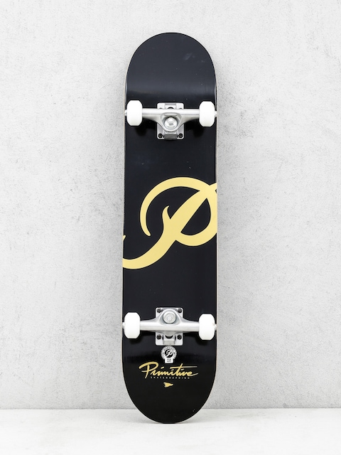 Skateboard Primitive Classic P (black/gold)