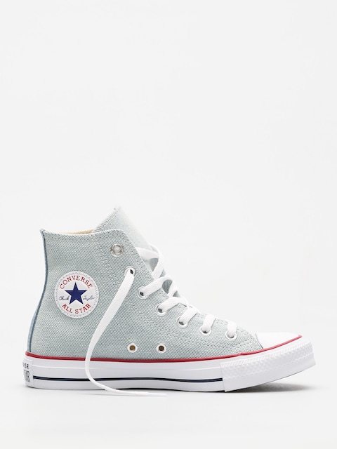 Tenisky Converse Chuck Taylor All Star Hi (light blue/white/brown)