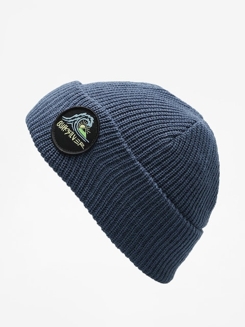 Čepice Quiksilver Performed Patch 2 Beanie (dark denim)