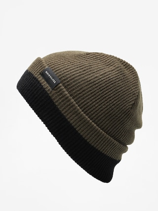 u010cepice Quiksilver Performed Color Block 2 Beanie (forest night)
