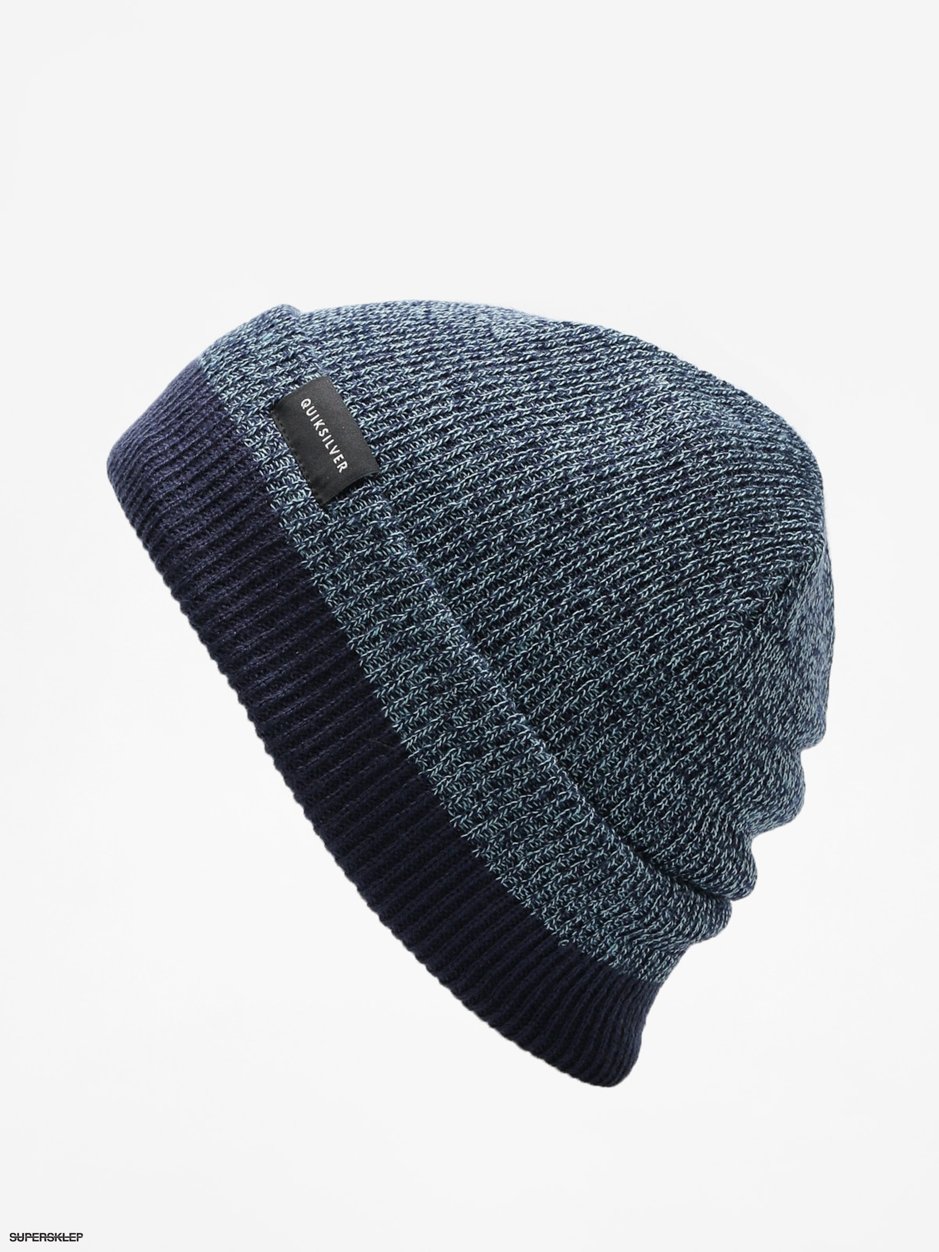 f98b3d27067 Čepice Quiksilver Performed Color Block 2 Beanie (medieval blue)