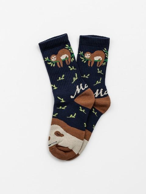 Ponožky Malita Sloth (navy)