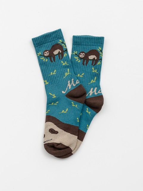 Ponožky Malita Sloth (turquoise)