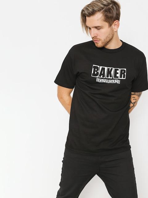 Tričko Baker Brand Logo (black)