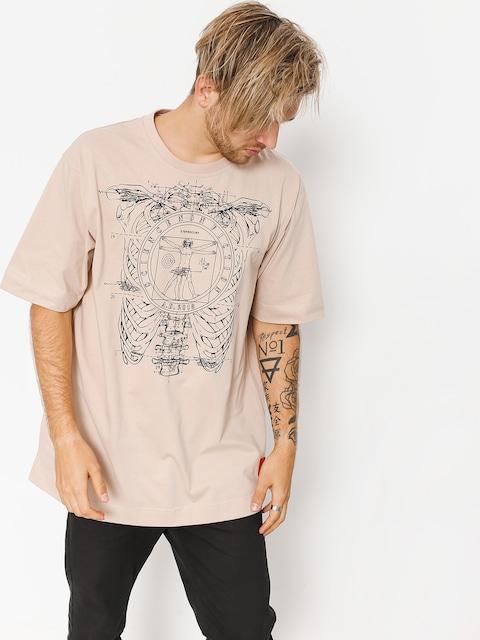 Tričko Stoprocent Vinci (beige)