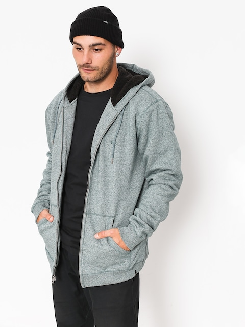 Mikina s kapucí Quiksilver Everyday Sherpa HD (tapestry heather)