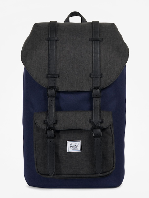 Batoh Herschel Supply Co. Little America (peacoat/black crosshatch)