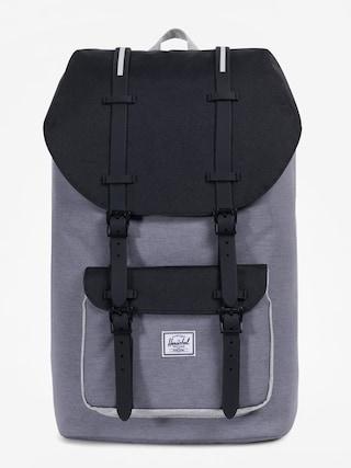 Batoh Herschel Supply Co. Little America (mid grey crosshatch/black/light grey crosshatch)