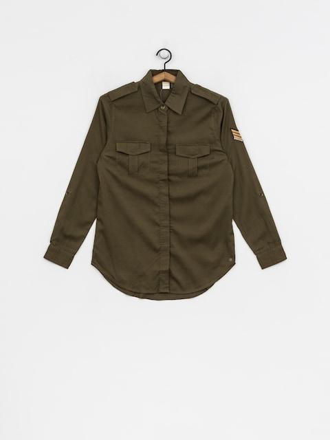 Košile Roxy Militaryinfluen Wmn (burnt olive)