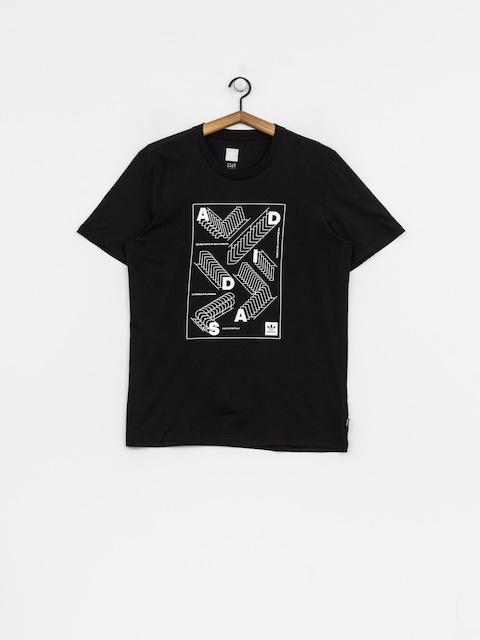 Tričko adidas Rep (black/white)