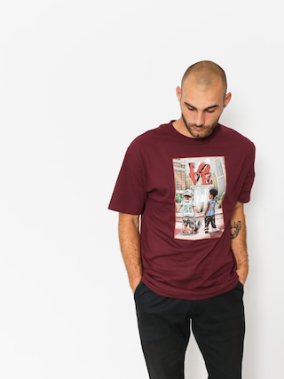 Tričko DGK Lil Dgk (burgundy)