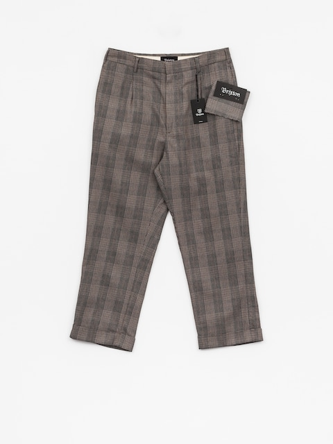 Kalhoty Brixton Regent Trouser (grey plaid)