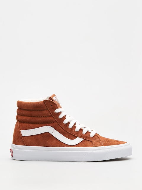 Boty Vans Sk8 Hi Reissue (leather brown/true white)