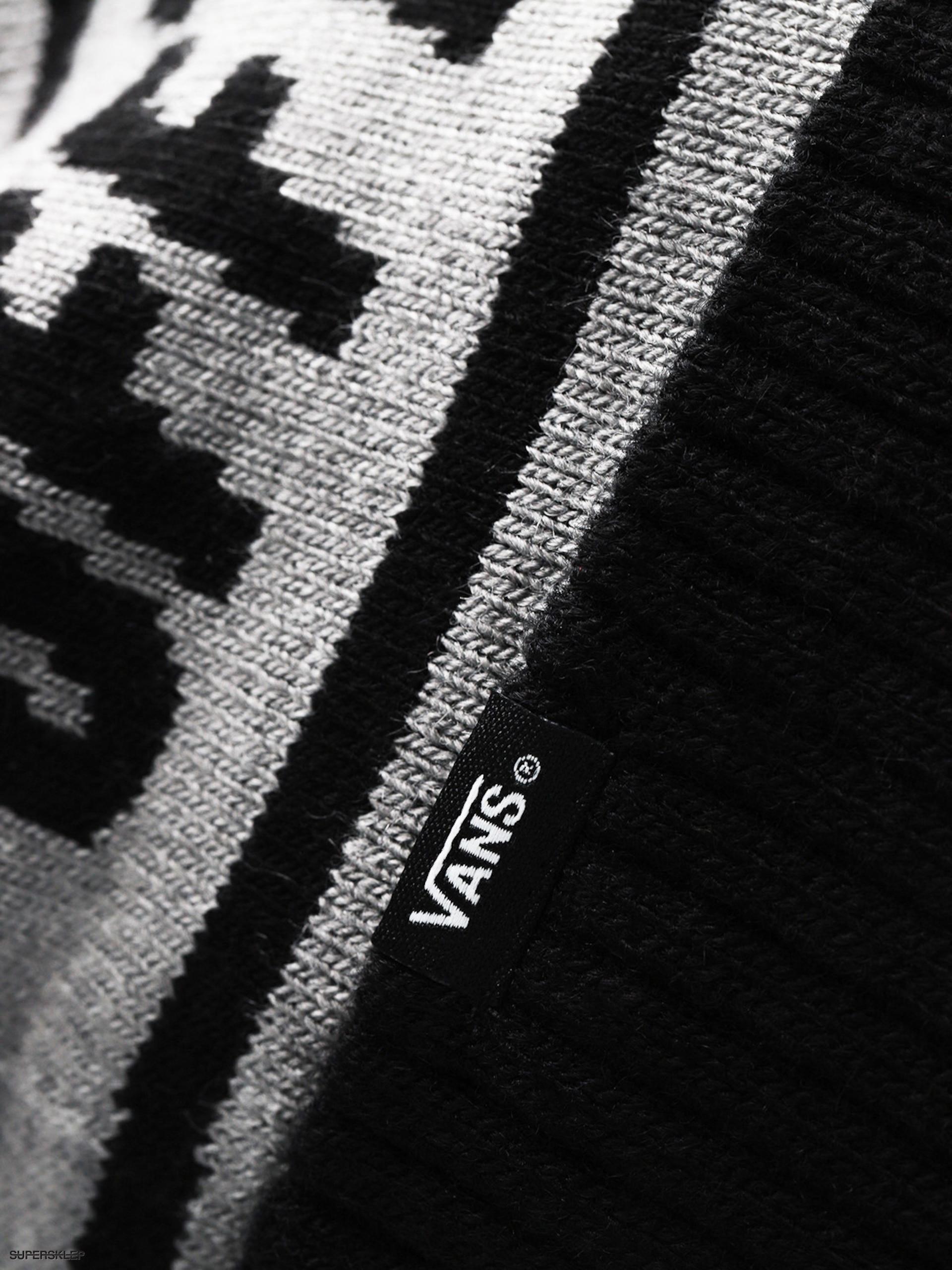 Čepice Vans Off The Wall Pom (heather grey black) 079578ca24
