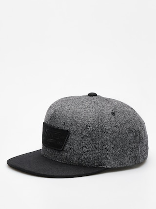 Kšiltovka  Vans Full Patch Snapback ZD (heather grey/black)