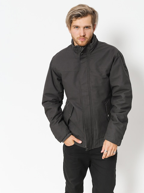 Bunda Quiksilver Brooks Full Zip (tarmac)