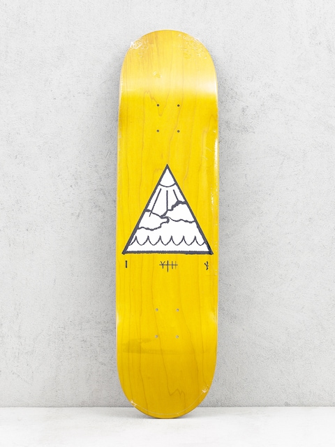 Deska Youth Skateboards Triangle Logo (yellow)