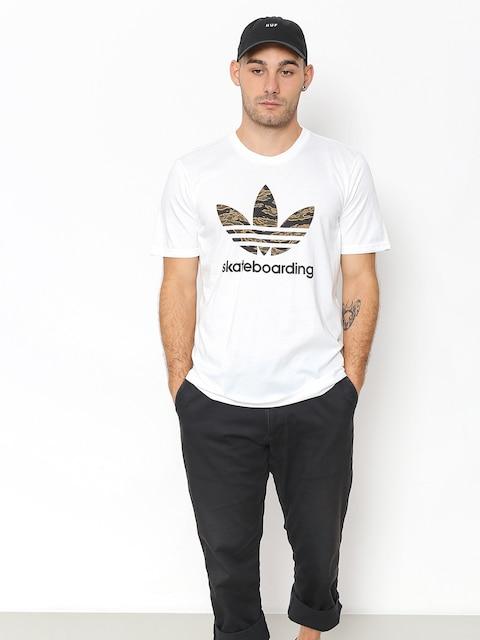 Tričko adidas Cmo 3.0 (white/camo print/collegiate orange)