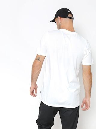 Tričko adidas Clima 3.0 (white/collegiate royal/tactile yellow)