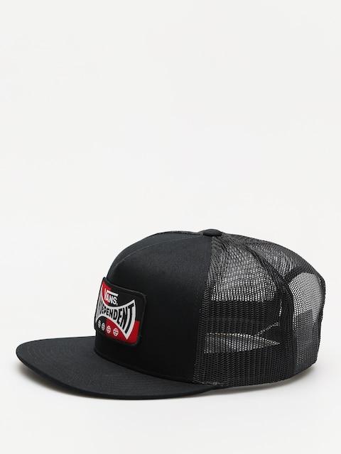 Kšiltovka  Vans X Independent Snapback ZD (black)