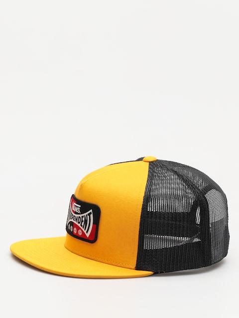 Kšiltovka  Vans X Independent Snapback ZD (sunflower)