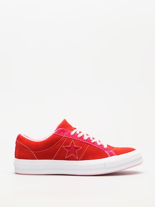 Tenisky Converse One Star Ox (enamel red/pink pop)