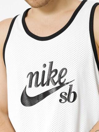 Tričko Nike SB Sb Dry Mesh (black/white/solar red)