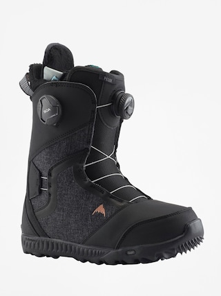 Boty na snowboard Burton Felix Boa Wmn (black)