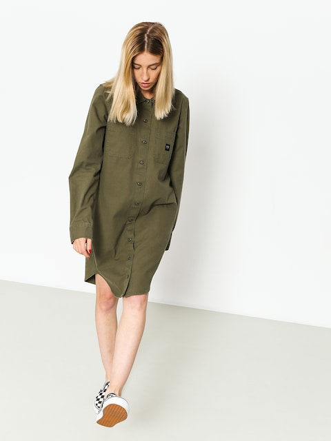 Šaty  Vans Broadway Dress Wmn (grape leaf)