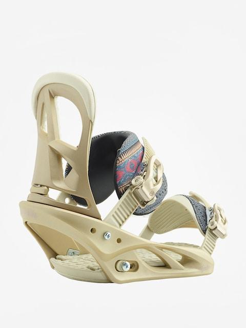 Snowboardová vázání Burton Scribe Wmn (dusty rose)