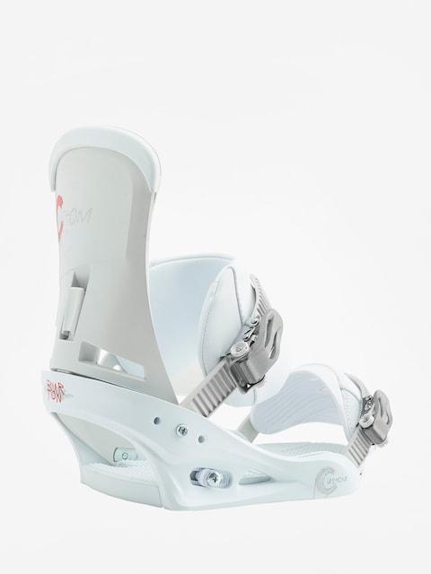 Snowboardová vázání Burton Custom (white)