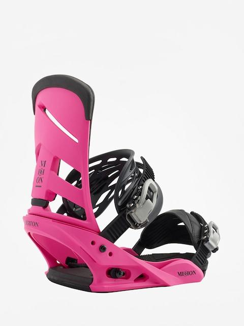 Snowboardová vázání Burton Mission (pink)