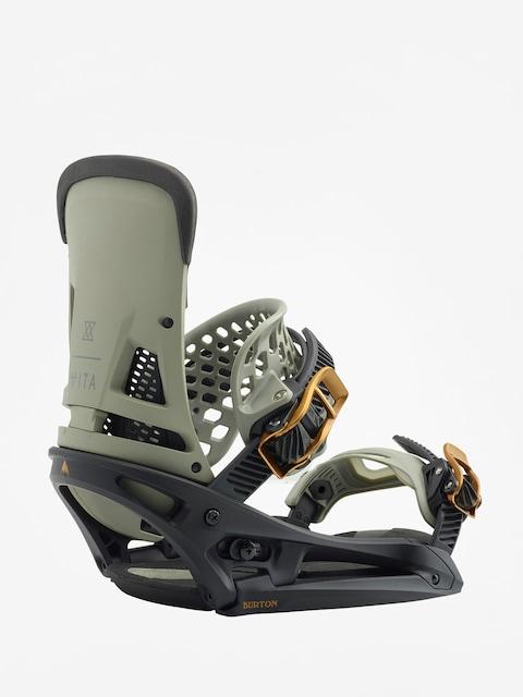 Snowboardová vázání Burton Malavita Est (black/gray)
