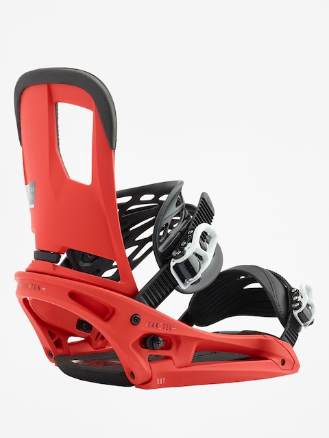 Snowboardové vázání Burton Cartel Est (red)