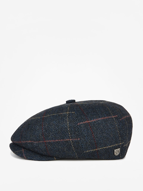 Klobouk s kšiltem Brixton Brood Snap ZD (navy plaid)