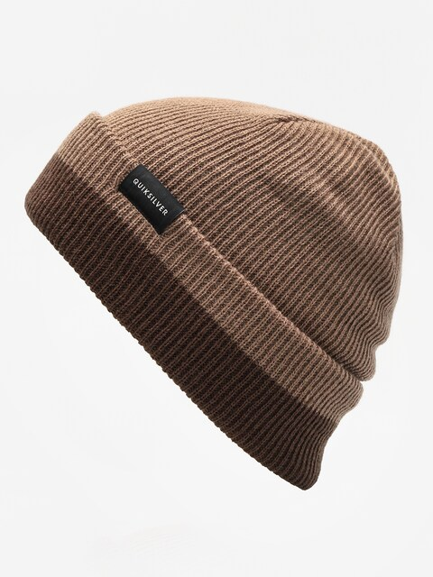 Čepice Quiksilver Performed Color Block 2 Beanie (chocolate brown)