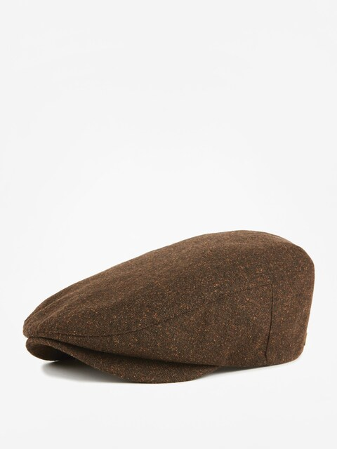 Klobouk s kšiltem Brixton Barrel Snap ZD (brown/rust)
