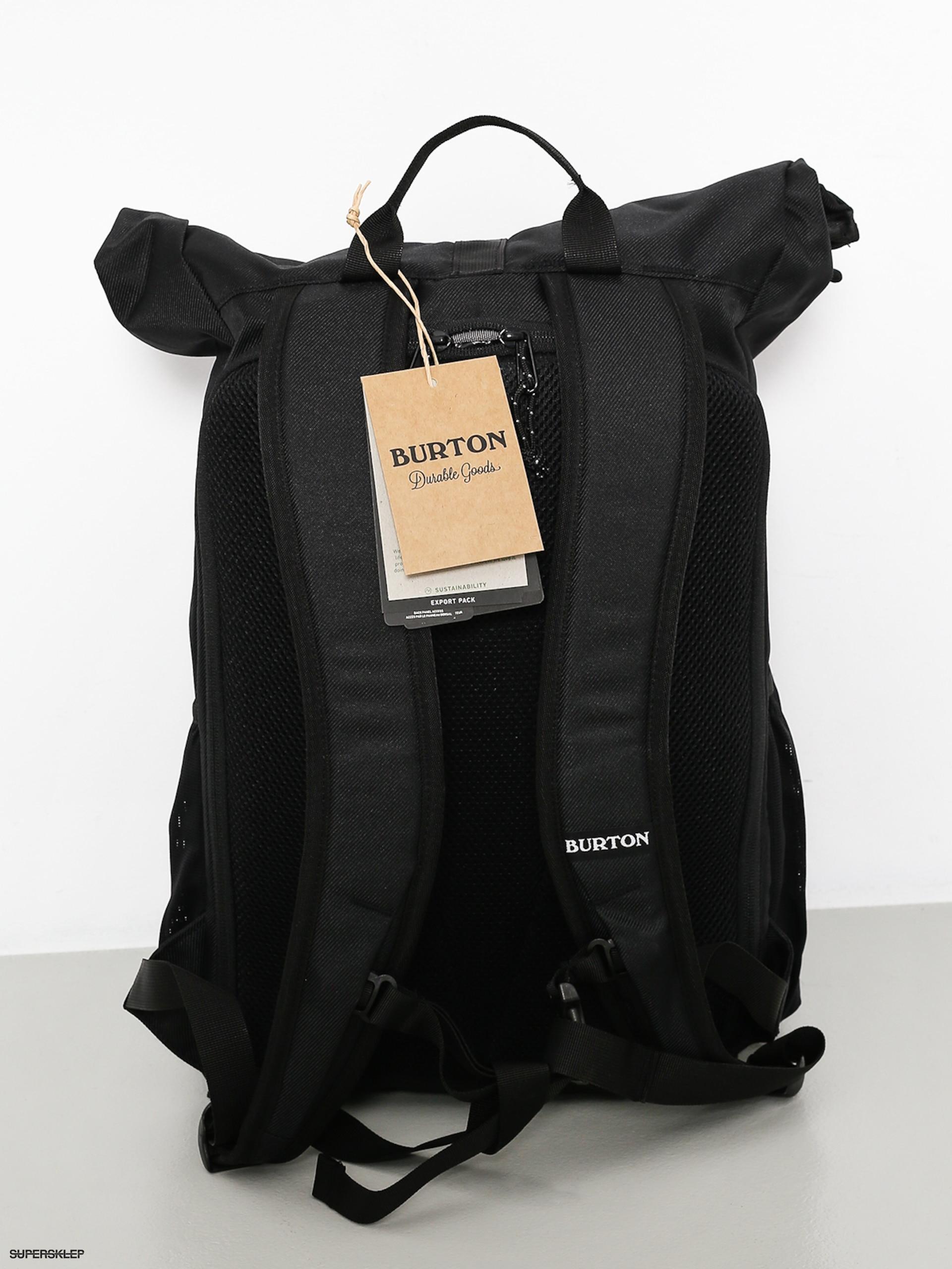 75d99e655 Batoh Burton Export (true black twill)
