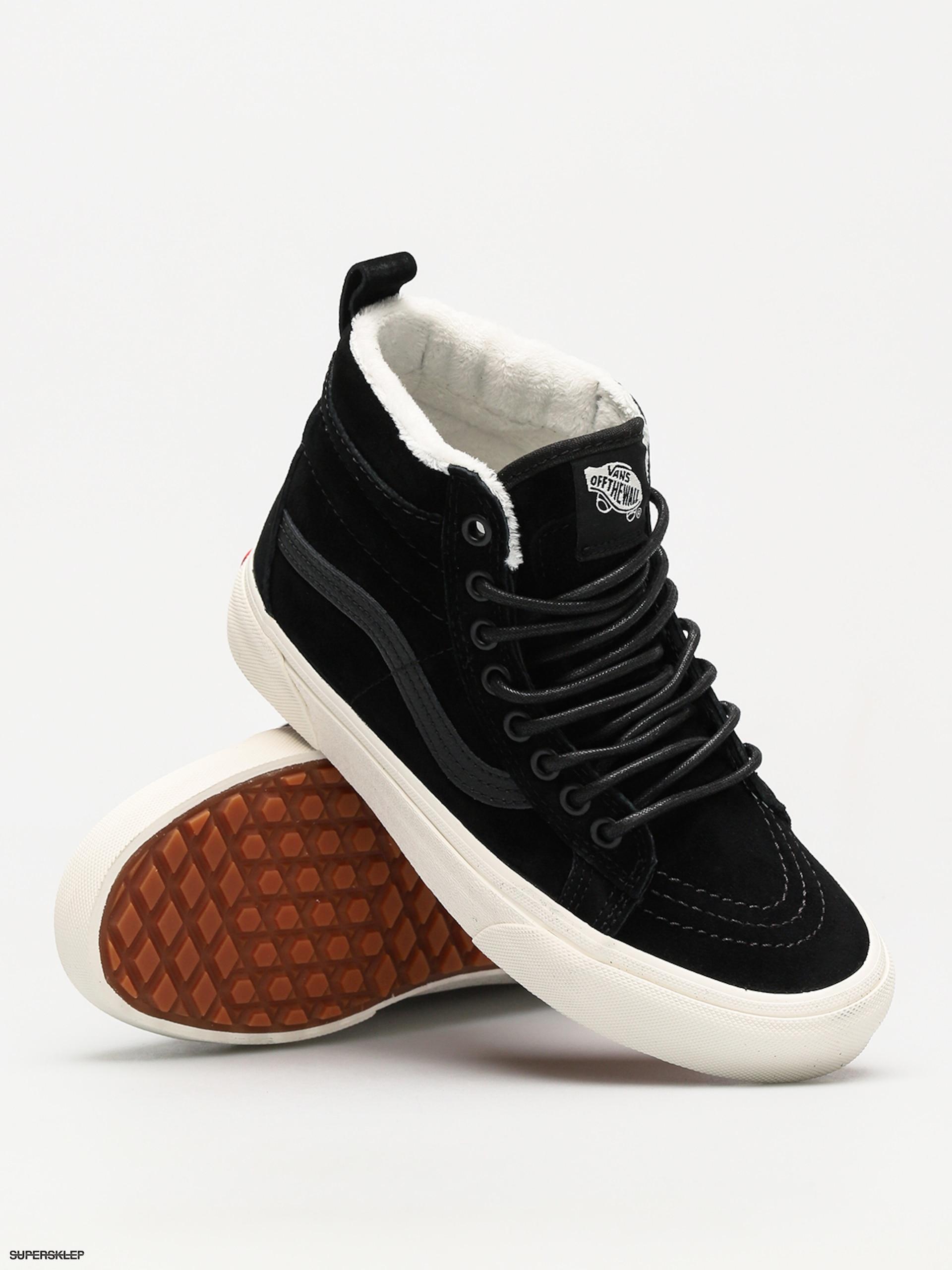 Boty Vans Sk8 Hi Mte (black black marshmallow) 86419a68329