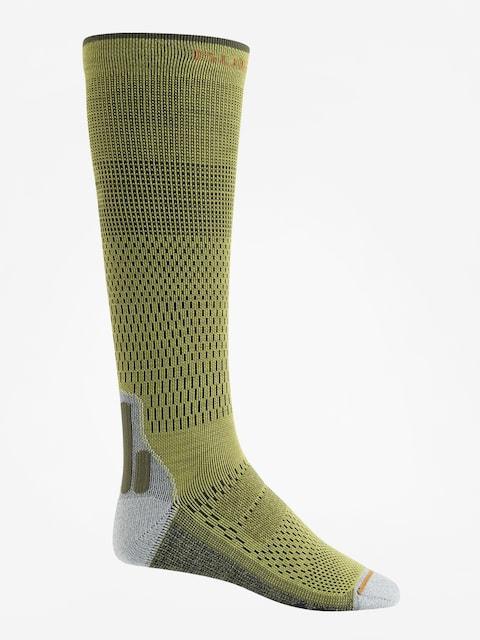 Ponožky Burton Performance + Ultralight Compression (mosstone)