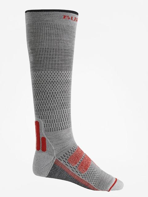 Ponožky Burton Performance + Ultralight Compression (gray heather)