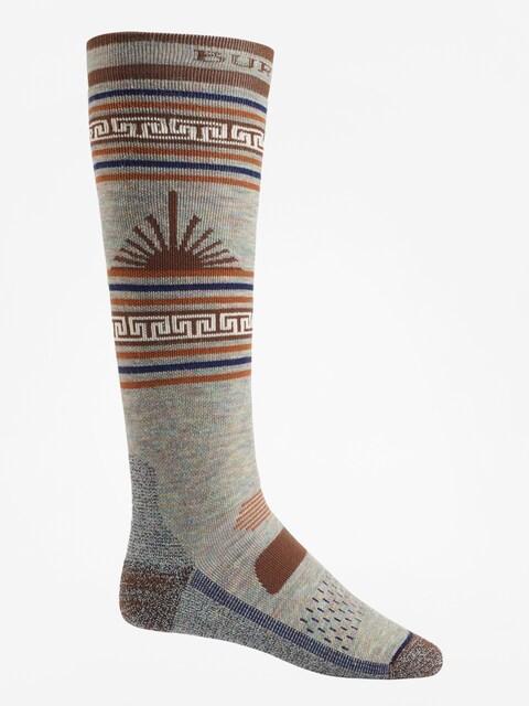 Ponožky Burton Performance Midweight (oatmeal heather)