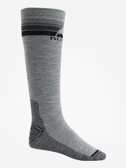 Ponožky Burton Emblem Midweight (gray heather)