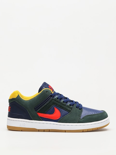 Boty Nike SB Sb Air Force II Low (midnight green/habanero red blue void)