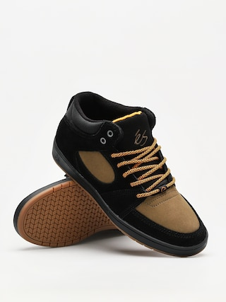 Boty Es Accel Slim Mid (black/brown)