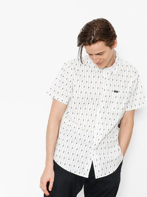 Košile Brixton Charter Wvn (white/black)